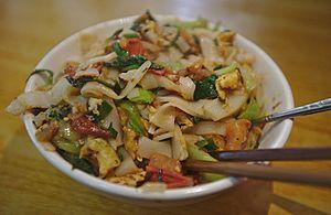 Juanfen - Image: Stir fried Juanfen Noodles