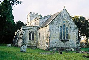 Stockton, Wiltshire - Image: Stockton Church 2
