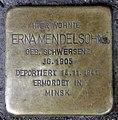 Stolperstein Donaustr 18 (Neukö) Erna Mendelsohn.jpg