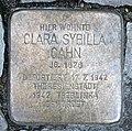 Stolperstein Duisburger Str 16 (Wilmd) Clara Sybilla Cahn.jpg