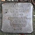 Stolperstein Eichborndamm 240 (Wittn) Dieter Ziegler.jpg