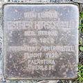 Stolperstein Esther Hirschfeld by 2eight 3SC1505.jpg