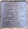 Stolperstein Hektorstr 9 (Halsee) Thekla Cohn.jpg