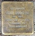 Stolperstein Langenscheidtstr 11 (Schöb) Hans Arnheim.jpg