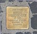 Stolperstein Unter den Linden 6 (Mitte) Martin Hammerschmidt.jpg