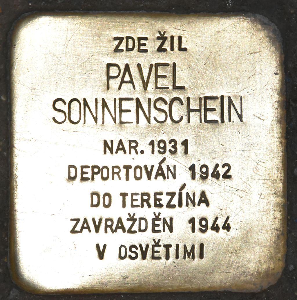 Stolperstein für Pavel Sonnenschein.JPG