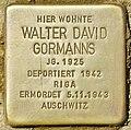 Stolperstein für Walter David Gormanns (Potsdam).jpg