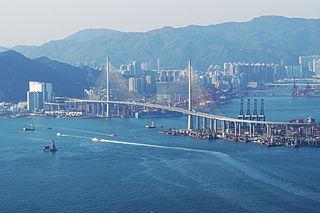 Stonecutters Bridge bridge in Hong Kong