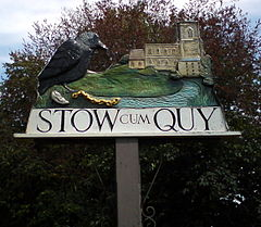 Stow cum Quy village sign.jpg