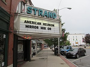 Clinton (CDP), Massachusetts - Strand Theatre