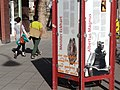 Street Scene with Posters of Meister Eckhart and Albertus Magnus - Köln (Cologne) - Germany.jpg