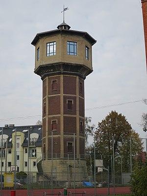 Gmina Strzelce Opolskie - Image: Strzelce Opolskie, wieża ciśnień