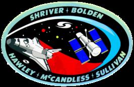 Missiepatch van STS-31