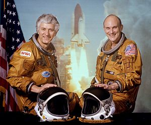 STS-4 - Image: Sts 4 crew