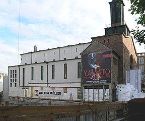 Haus der Katholischen Kirche in aanbouw