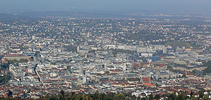 Stuttgart Region - View of Stuttgart