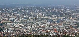 Stuttgart Region - View of Stuttgart
