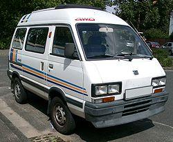 Windabweiser für Subaru Domingo E10 1984-1993 Kastenwagen vorne