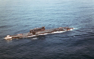 Juliett-class submarine - Image: Submarine Juliett class