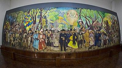 Sueno De Una Tarde Dominical En La Alameda Central Wikipedia