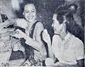 Sukarsih and Zaenah with Pempek Dunia Film 1 May 1955 p16.jpg
