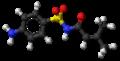 Sulfadicramide molecule ball.png
