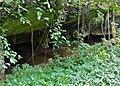 Sungai (River) Subis disappearing underground (15040056084).jpg