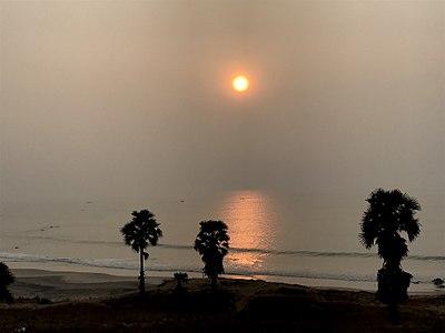 Sunrise near Ramanaidu studios.jpg
