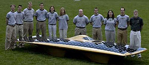 Mizzou Hydrogen Car Team - Suntiger 6 team photo