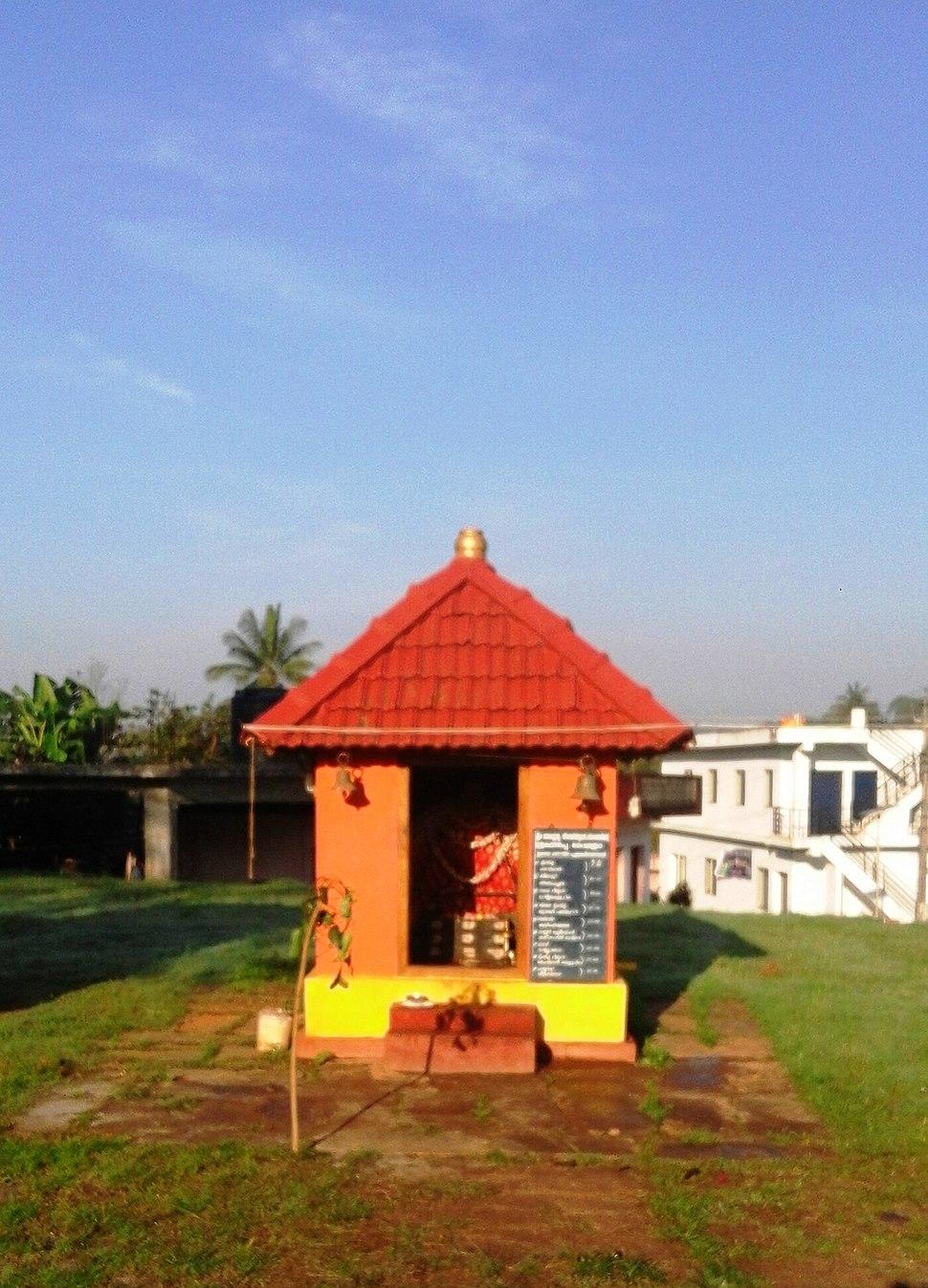 Suntikoppa. Muthappan Temple