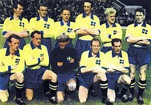 Sweden national football team - The Swedish squad.