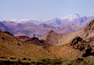 Cape Fold Belt - Klein Swartberg Range, seen from the Laingsburg area
