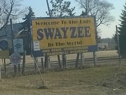 """The Only Swayzee in the World"""