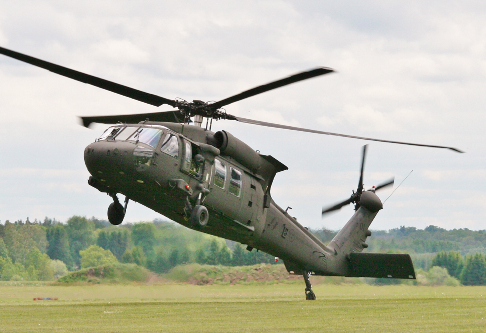 Swedish Helicopter Force UH-60