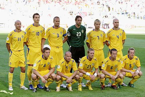 Swedish national team of 2006.