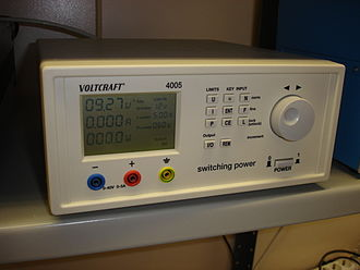 Switched-mode power supply - An adjustable switched-mode power supply for laboratory use