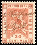 Switzerland Bern 1898 revenue 30c - 54 VI-98.jpg