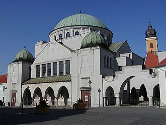History of the Jews in Slovakia - Synagogue in Trenčín