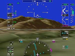 Honeywell Aerospace - Honeywell's synthetic vision system.