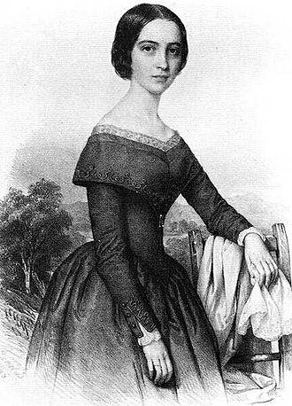 Sándor Petőfi - Júlia Szendrey, Petőfi's wife