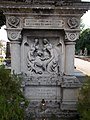 Szent Kereszt temető, Kereszt (1900), talapzat, 2019 Kapuvár.jpg