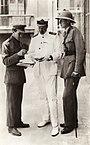 T.E. Lawrence; David George Hogarth; unknown man.jpg