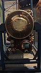 T58-IHI-10M2 turboshaft engine(cutaway model) front view at Kakamigahara Aerospace Science Museum November 2, 2014.jpg