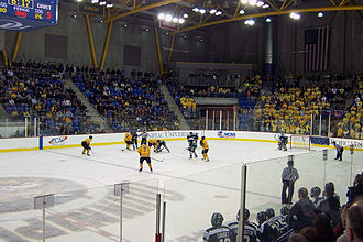 ECAC Hockey - A Men's game between Dartmouth and Quinnipiac at the TD Bank Sports Center