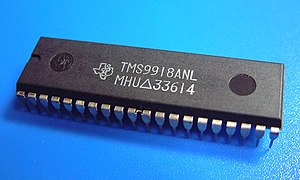 Texas Instruments TMS9918 - VDP TMS9918A