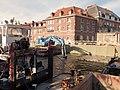 TOURNAI (Doornik) — Rognage du mur de soutenement de l'ancien quai Saint Brice après les travaux d'élargissement du lit de l'Escaut (4).jpg