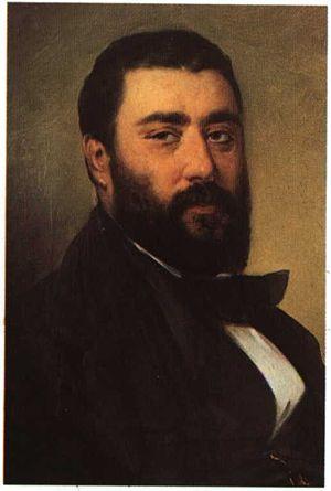 Dionysios Tsokos - Self-portrait (date unknown)