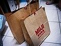 TWN Muji paper bags 20060731.jpg