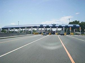 Tabang Toll Barrier of North Luzon Expressway ...