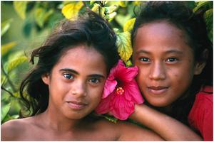 Tahitians - Tahitian girls